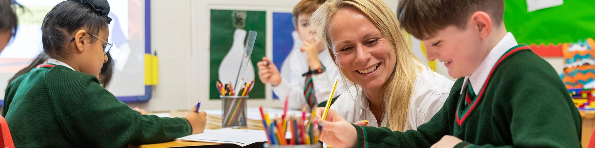 Junior School Emotional and Social Wellbeing Hollygirt School